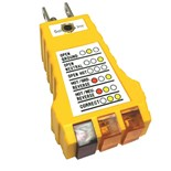 Static Solutions SP-101 Receptacle Ground Tester with Wrist Strap Plug
