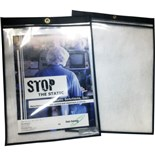 Static Solutions DH-912PP Ohm-Shield™ ESD-Safe Document/Job Ticket Holder
