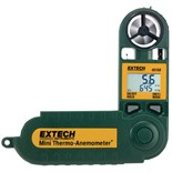 Extech 45158 Mini Thermo-Anemometer with Temperature & Humidity