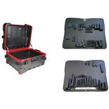 Jensen Tools 479-724 Military Style Rugged Case w/ Multi Purpose Tool Pallets