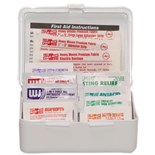 7109 Waterproof 10 Person General Purpose First Aid Kit