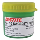 Loctite IDH 1993881 GC 10 Solder Paste, No-Clean, SAC305 T4, Temperature Stable, 500 Gram Jar