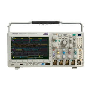 Tektronix MDO3104 Mixed Domain Oscilloscope with (4) 1 GHz analog channels, and (1) 1 GHz spectrum analyzer input