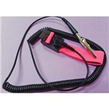 Botron B9629 Adjustable Wrist Strap with 12' Cord, Pink