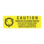 """Transforming Technologies LB9050 Caution Labels Sensitive Electronic Devices, 5/8"""" x 2"""", 500/Roll"""