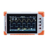Instek GDS-210 100MHz, 2 Channel Handheld Digital Oscilloscope with 5000 Count DMM and Touch Screen