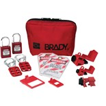 Brady 105967 Breaker Lockout Sampler Toolbox Kit w/ 2 Keyed-Alike Safety Padlocks