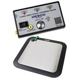 Desco 19283 Combo Wrist Strap & Footwear Tester with Foot Plate