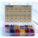 Jensen Tools CPS462060 196-Pc Solderless Terminal Kit For 10-22AWG in Plastic Box
