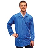 Transforming Technologies JKC9023SPLB ESD-Safe Jacket, Light Blue, Medium