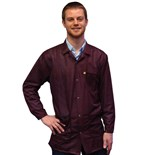 Transforming Technologies JKC9022SPMR ESD-Safe Jacket, Maroon, Small