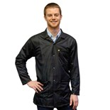 Transforming Technologies JKC9024SPBK ESD-Safe Jacket, Black, Large