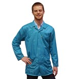 Transforming Technologies JKC9022SPTL ESD-Safe Jacket, Teal, Small