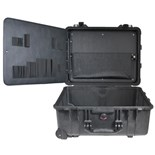 Jensen Tools 1560 Wheeled Case with Side Hinge Pallet