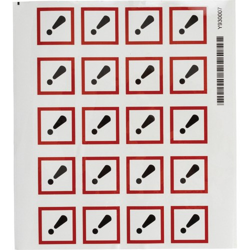brady 121193 ghs acute toxic pictogram labels polyester 1 1 2 x 1