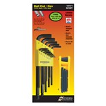Bondhus 14171 Bonus SAE Hex Key Set 10937 Includes a Fold-Up