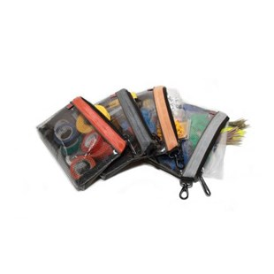 """Veto Pro Pac PB4 Color Coded Utility Tool Parts Bags, 10.5 x 7"""""""", 4/Pkg"""