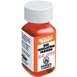 MG Chemicals 4228-55ML Red GLPT Insulating Varnish Glyptol,, 2 oz. Bottle with Brush Top
