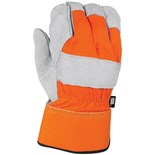 Black & Decker BD520L Leather Palm Work Glove, Large, Pair