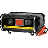 Stanley BC25BS 25 Amp Battery Charger w/75A Engine Start and Patented Alternator Check