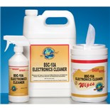 JNJ Industries SW100BSC BSC-10A Electronics Cleaner Saturated Wipes, 100/Can