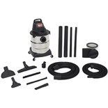 Shop Vac 600-02-10 10-Gallon Stainless Steel Wet/Dry Vacuum Cleaner 4.5HP