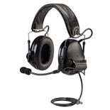 3M MT17H682FB-47 GN PELTOR™ COMTAC™ III ACH Tactical Communication Headset, Single COMM, Headband