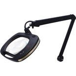 Aven 26505-ESL-XL5 Mighty Vue Pro ESD Magnifying Lamp with 5 Diopter Lens, LED with Touch Sensitive Brightness and Color Temperature Control