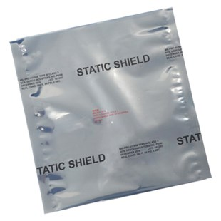 "SCS 817812 STATIC SHIELD Metal-In Bags, 8"" x 12"", 100/Case"