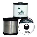 Indium IND-SN5-PB93-5-AG1-5CW807-020 HMP Cw-807 Sn5/Pb93.5/Ag1.5 No-Clean Flux-Cored Wire Solder, 0.020""