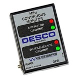 Desco 19239 Mini Continuous Monitor with North American Plug