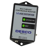 Desco 19651 Multi-Mount Continuous Monitor with North American Power Adapter