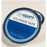 "TestEquity TST22-1000 Polyimide Film Tape with Silicone Adhesive 1"" x 36Yds"