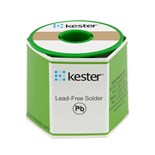 Kester 2470687601 Solder Wire, No Clean, Lead Free, Sn96.5Ag03Cu.5, 2.2%, 0.031 in (0.80 mm), 275 Series