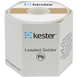 Kester 2463378806 Solder Wire, No Clean, Leaded, Sn63Pb37, 1.1%, 0.015 in (0.40 mm), 245 Series