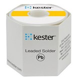 Kester 24-6337-7403 Solder Wire, Rosin Core, Leaded, Sn63Pb37, 3.3%, 0.062 in (1.50 mm), 282 Series