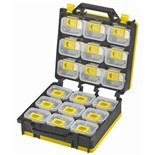 Shuter 1010496 Portabble Storage Case 2-Sided with 18 Bins and Carry Strap