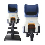 Scienscope VIZOR-TS Vizor Vision System Mocroscope with Bench Stand, Focusing Stage and Lenses