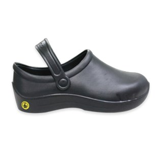 Transforming Technologies SHBK27 Unisex ESD Safe Clogs, Size: Men's 8.5/Women's 10