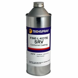 Techspray 2127-P Fine-L-Kote™ SRV Silicone Conformal Coating, 1 Pint