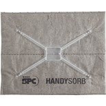 Brady SPC HandySorb Universal Pads, Absorb Up To 0.5 Gal Per Pad, 25/Case
