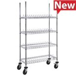 "Quantum Storage Systems WRC-R60C Reel Shelving Unit for 10"" Reels, 18"" x 36"" x 69"""