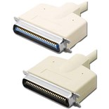 Pan Pacific S-Z50CMM-3' SCSI II to SCSI Cable 3'