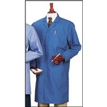 Worklon 6100 ESD- Safe Knee Length Lab Coat, Royal Blue, Large