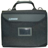Jensen Tools C1176JTBLR3 Single Black Cordura Case, with pallets only