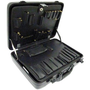 Jensen Tools 54B890 Slimline Poly Attache case with pallets only