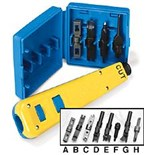 Fluke Networks 1-663 4 Blade Kit, Case and 814 Tool