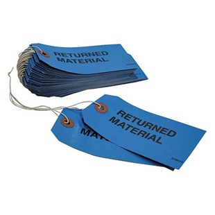 Custom Returned Material Tag For Intuitive Surg, 50/Pk