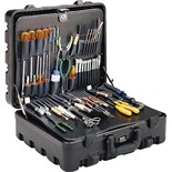 "Jensen Tools 33-PX7 CEK-33 Deluxe Field Sevice Kit in 6-1/4"" Deep Super Tough Case"