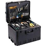 Jensen Tools 33-RR9W CEK-33  Deluxe Field Serice Kit with Rotationally Molded Case with Built-In Cart